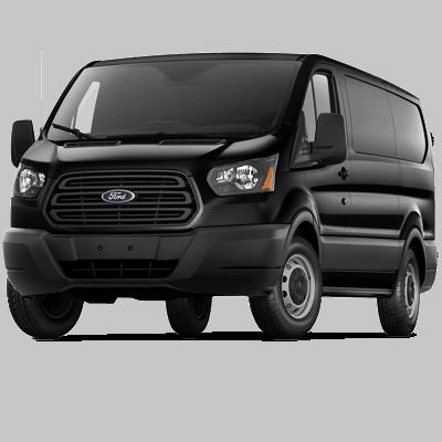 Ford transit 12 passenger van (1)